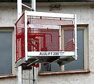 Stavební výtahy - ALULIFT 200
